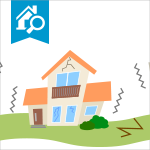 Drawing of a house indication the cause of most home structural failures