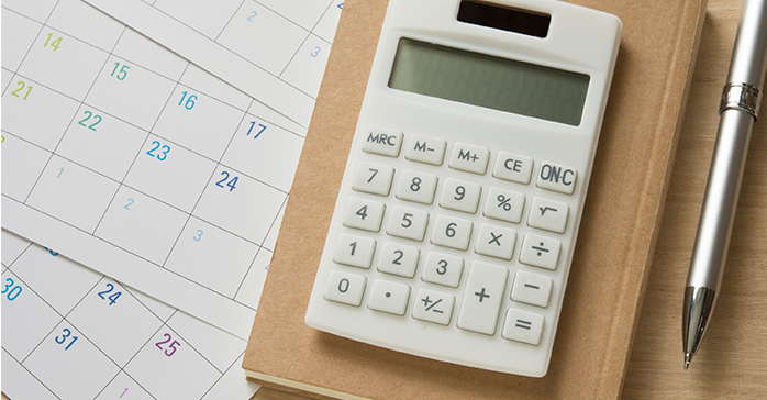 Calculator used to determine how much the CFA costs