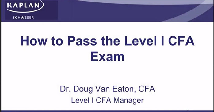 Passing CFA Level I Exam