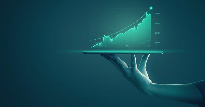 Investment banking analyst concept