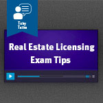 Real Estate Licensing Exam Tips