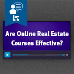 Are online real estate licensing courses as effective as live real estate licensing classes?
