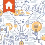 Real estate marketing lead generation funnel