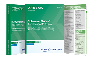 Schweser's CAIA Level II SchweserNotes™ Package