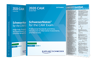 Schweser's CAIA Level I SchweserNotes™ Package