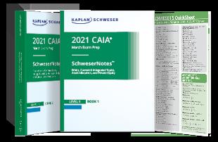 Kaplan Schweser's SchweserNotes™ for Level II of the CAIA exam