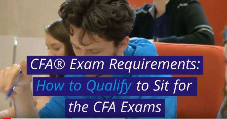 Two CFA Exam candidates studying for the exam