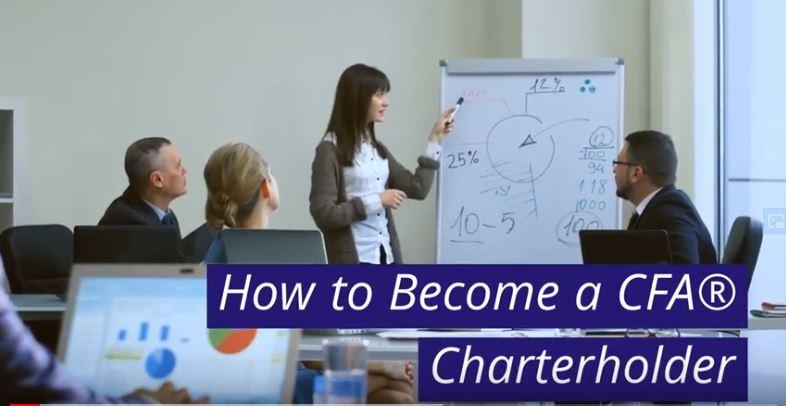 A group of confident CFA charterholders