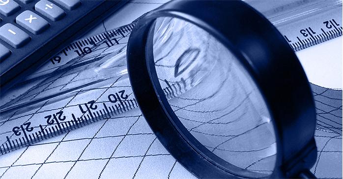 magnifying glass identifying how to become a CFA charterholder - Kaplan Schweser