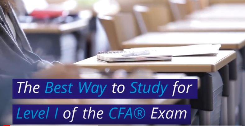 Best Way to Study for CFA Level I - video