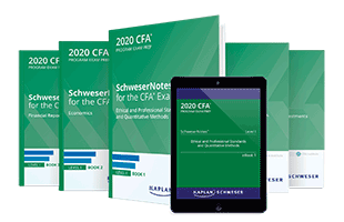 SchweserNotes™ for the December Level I CFA Exam