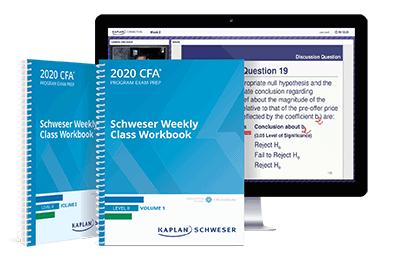 Schweser Online Weekly Class Workbooks