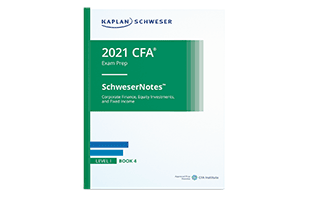 Kaplan Schweser's SchweserNotes™ Product Sample