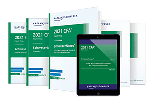Kaplan Schweser's SchweserNotes™ for Level I of the CFA exam