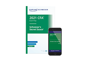 Kaplan Schweser's Secret Sauce® for Level I of the CFA exam