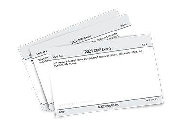 Level I flashcard set