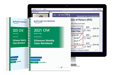 Kaplan Schweser Class Package for Level I of the CFA Exam