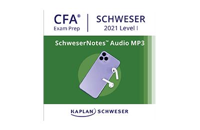 SchweserNotes™ Audio MP3