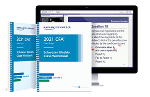 Kaplan Schweser's class materials for Level II of the CFA exam