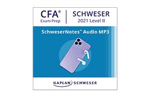 SchweserNotes™ Audio MP3s