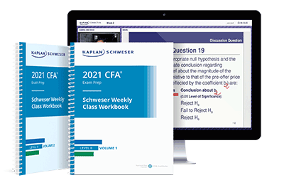 Kaplan Schweser Class Package for Level II of the CFA Exam