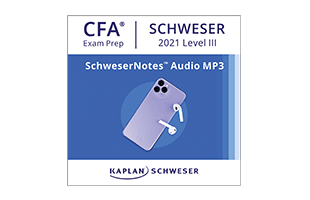Kaplan Schweser's SchweserNotes™ Audio MP3s for Level III of the CFA exam
