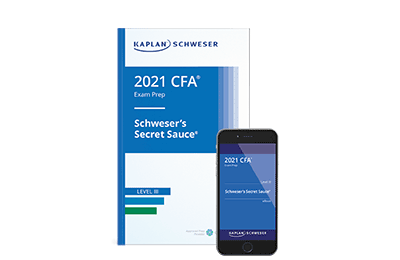 Schweser's Secret Sauce® Book for the Level III CFA Exam