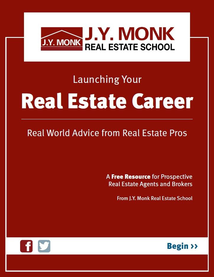Free eBook for launching your real estate career with J.Y. Monk
