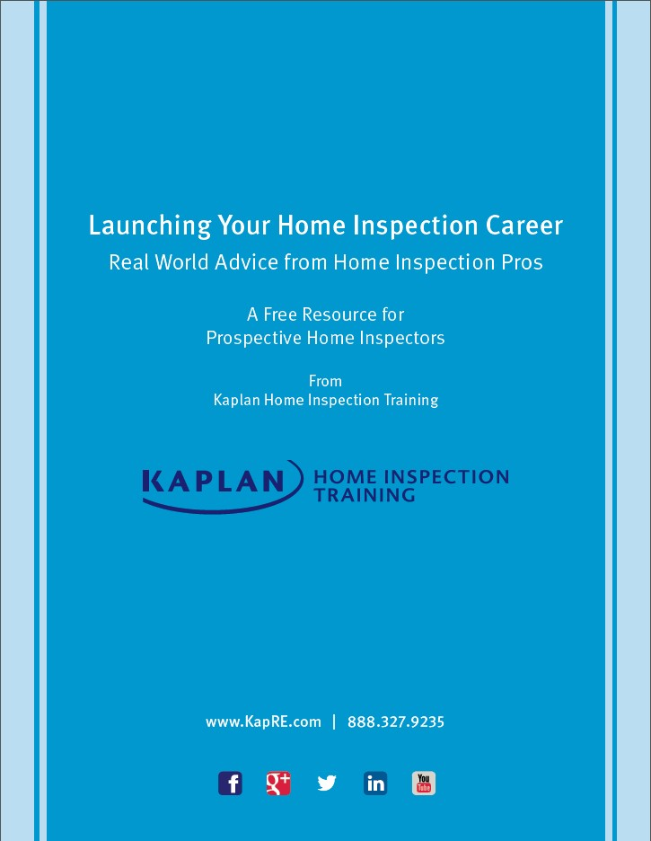 Launching Your Home Inspection Career